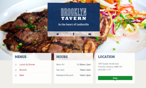 Brooklyn Tavern website